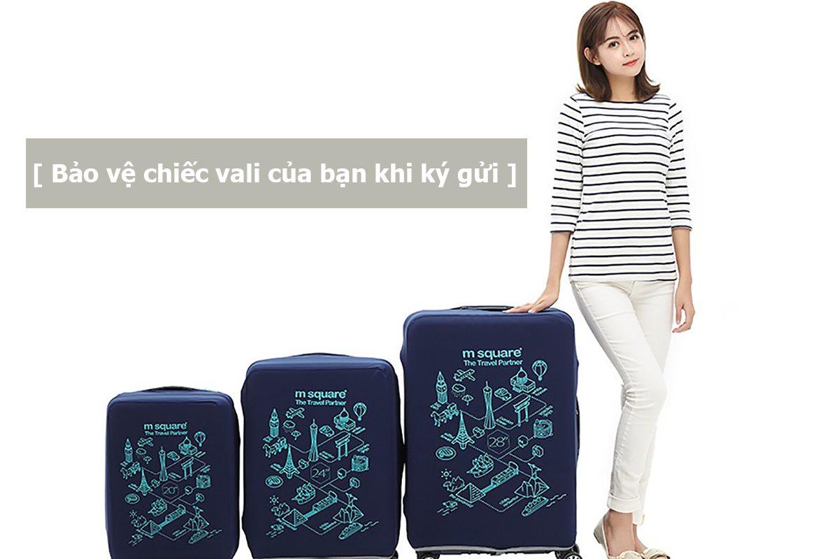 Bảo vệ vali của bạn khi ký gửi trên máy bay