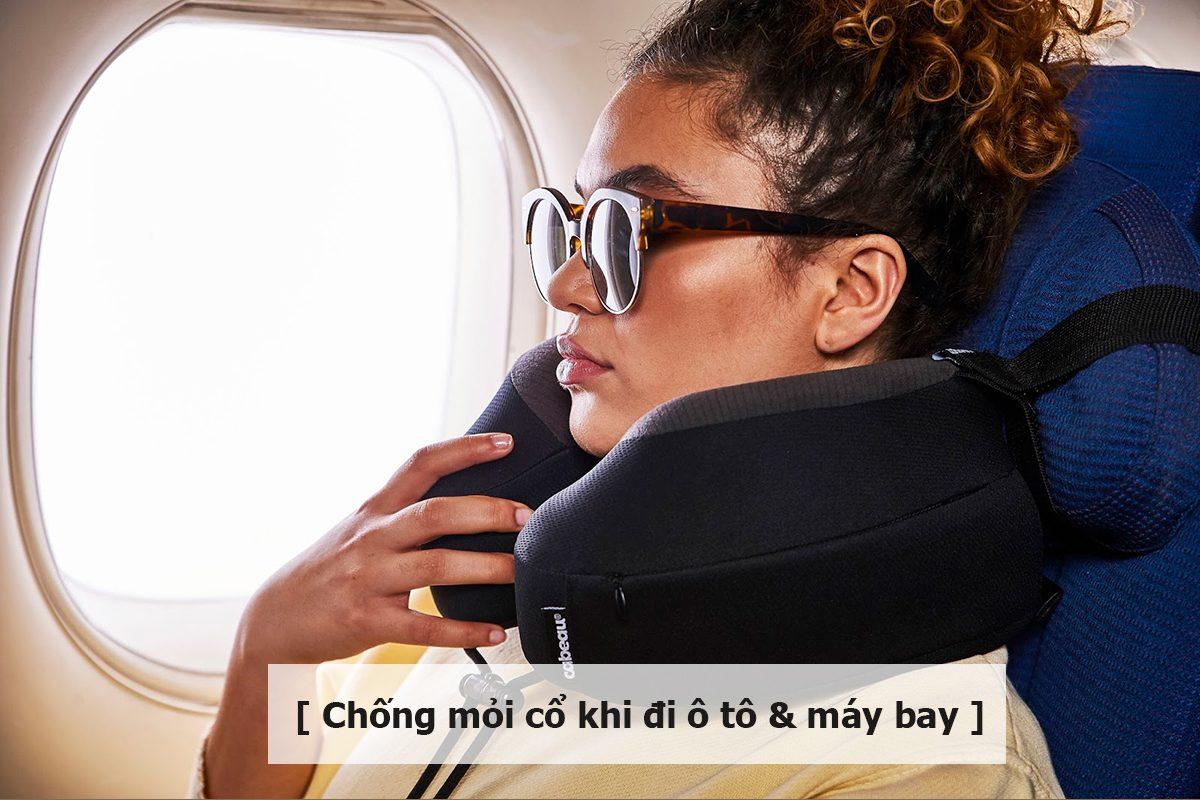 giải pháp chống mỏi cổ khi đi ô tô và máy bay