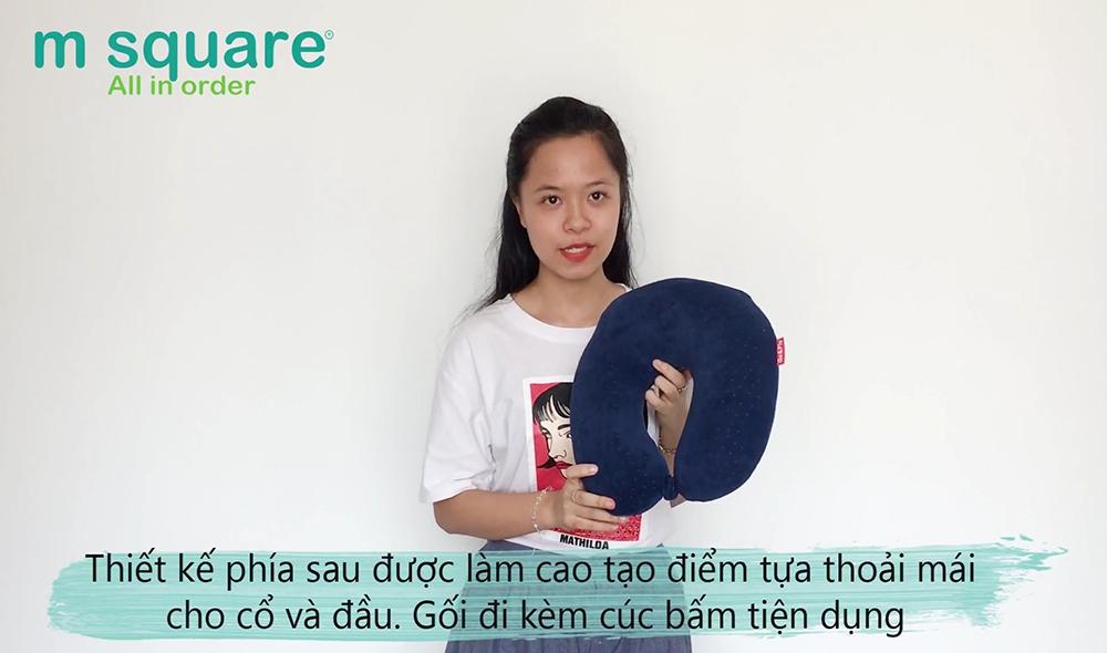 gối chữ u cao su non chất lượng của thương hiệu Msquare