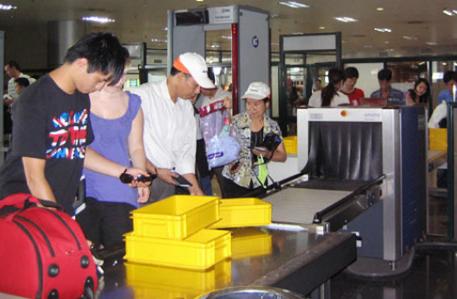 quy định về trọng lượng vali