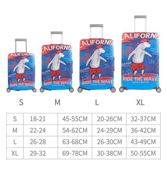lưu ý khi mua túi bọc vali chất lượng