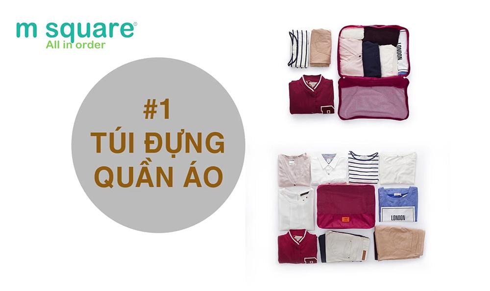 túi đựng quần áo cá nhân du lịch trọn bộ