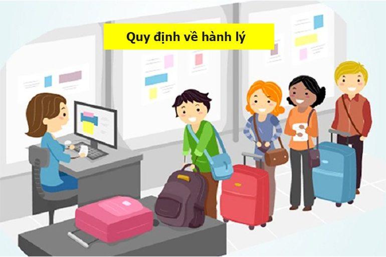 những quy định về hành lý khi đi máy bay