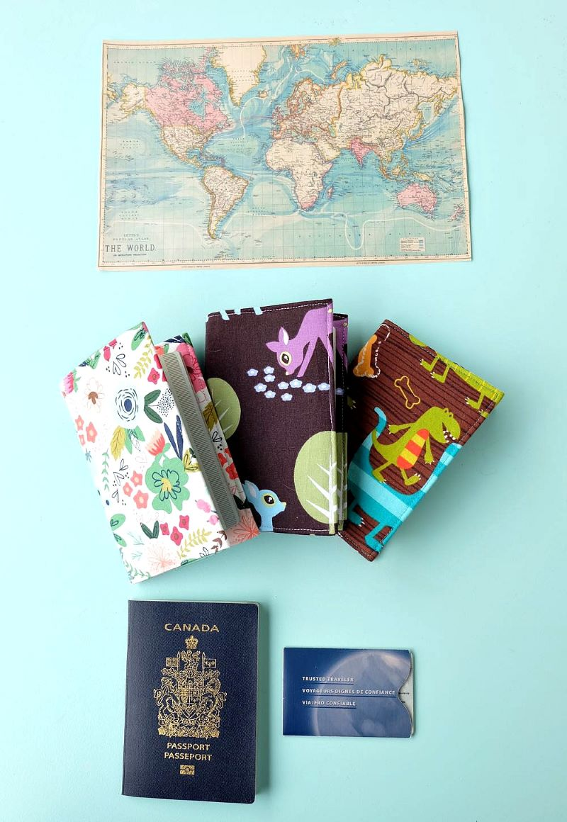 Ví đựng passport handmade độc đáo
