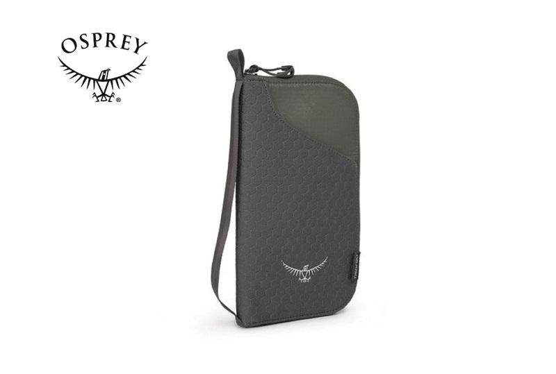 Ví đựng passport Osprey Document Zip O/S màu đen