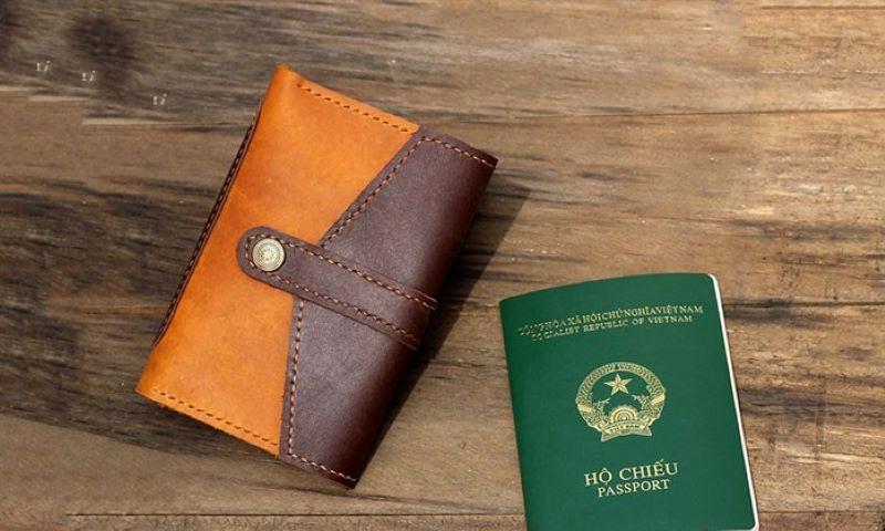 Ví đựng passport da Blender