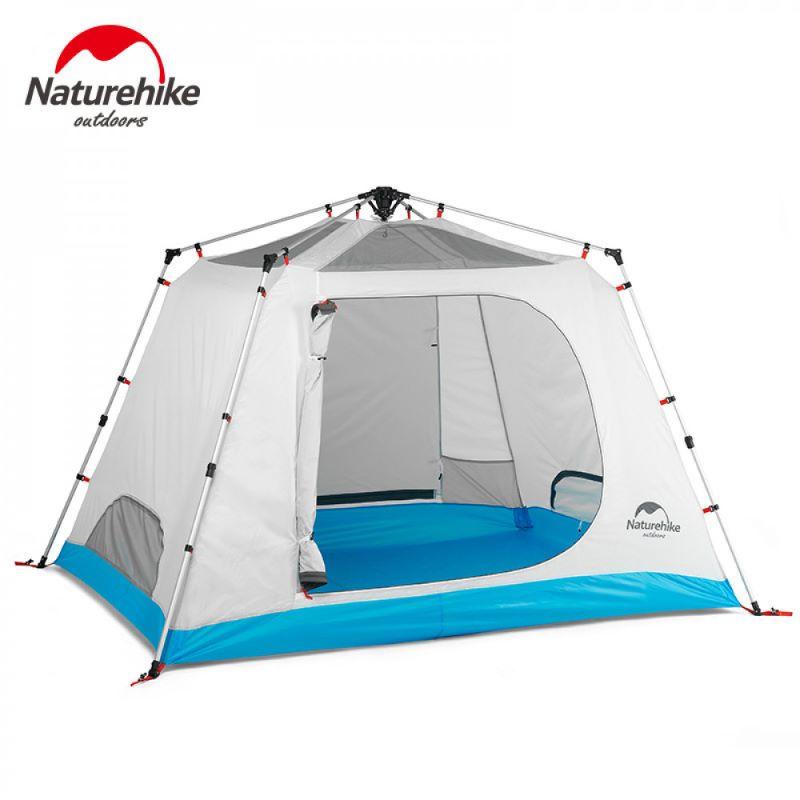 Lều cắm trại Naturehike màu trắng