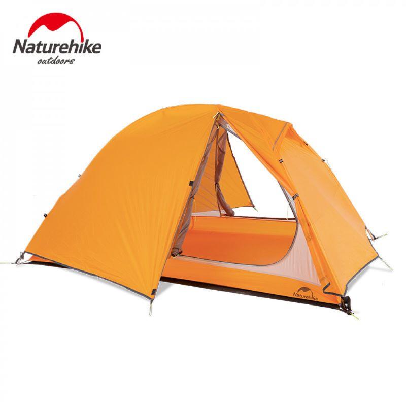 Lều cắm trại 2 người màu cam
