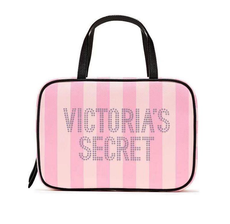 Túi đựng đồ trang điểm Victoria Secret màu hồng