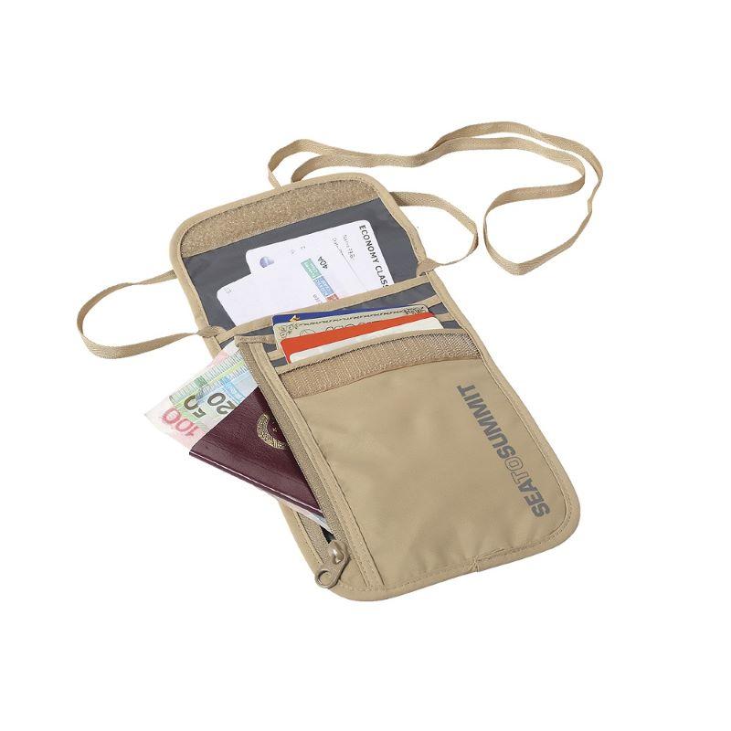 Túi đựng passport đeo cổ SeatoSummit Mỹ