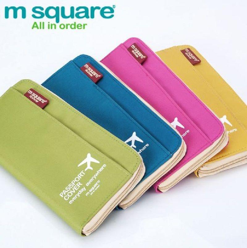 Ví đựng passport Msquare nhiều màu